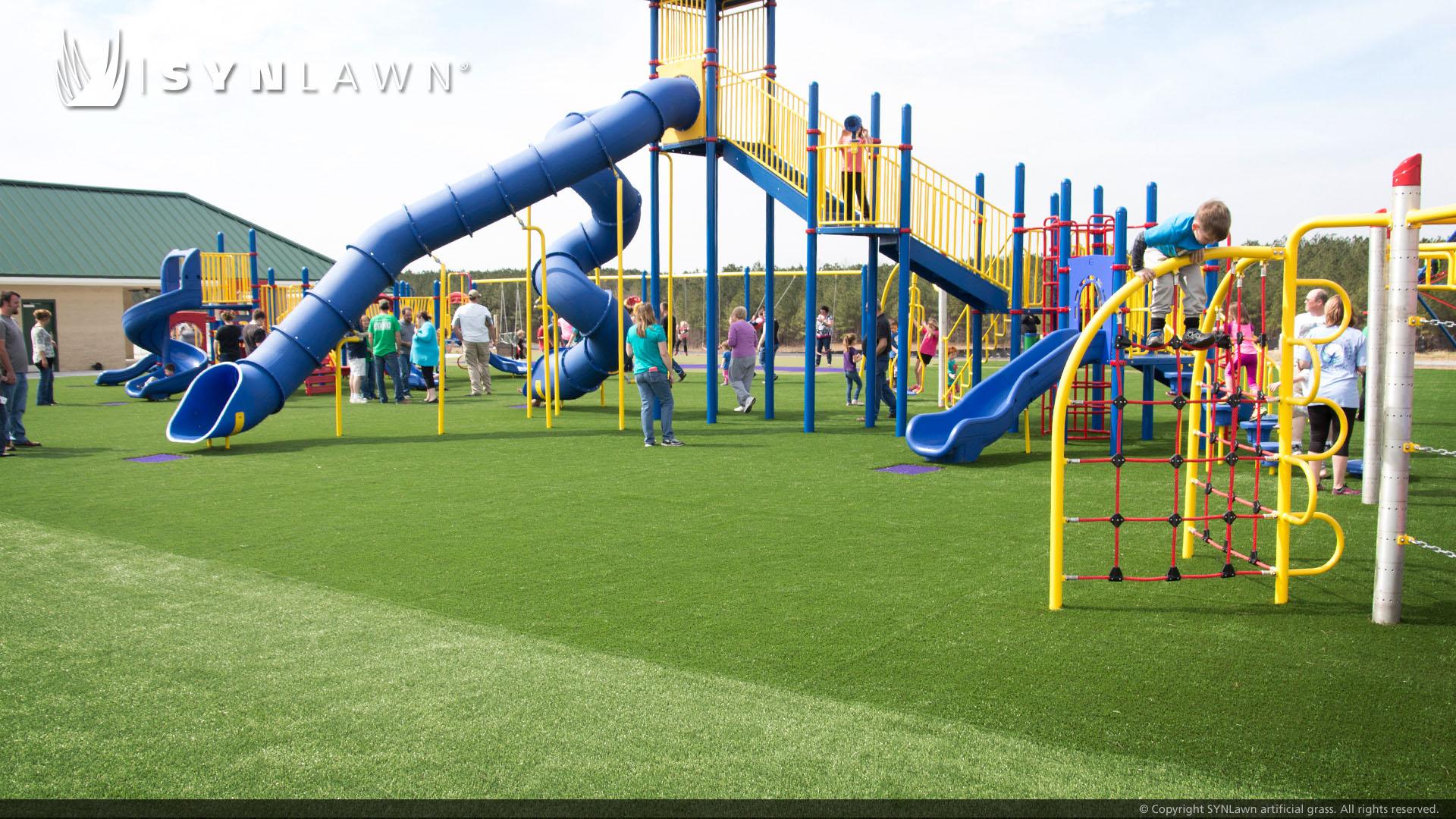 Artificial playground turf in Georgia