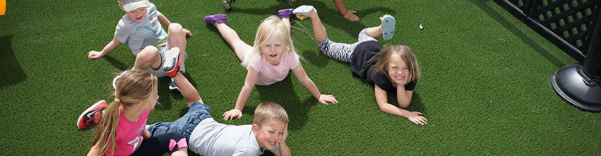 Synthetic playground turf in Georgia