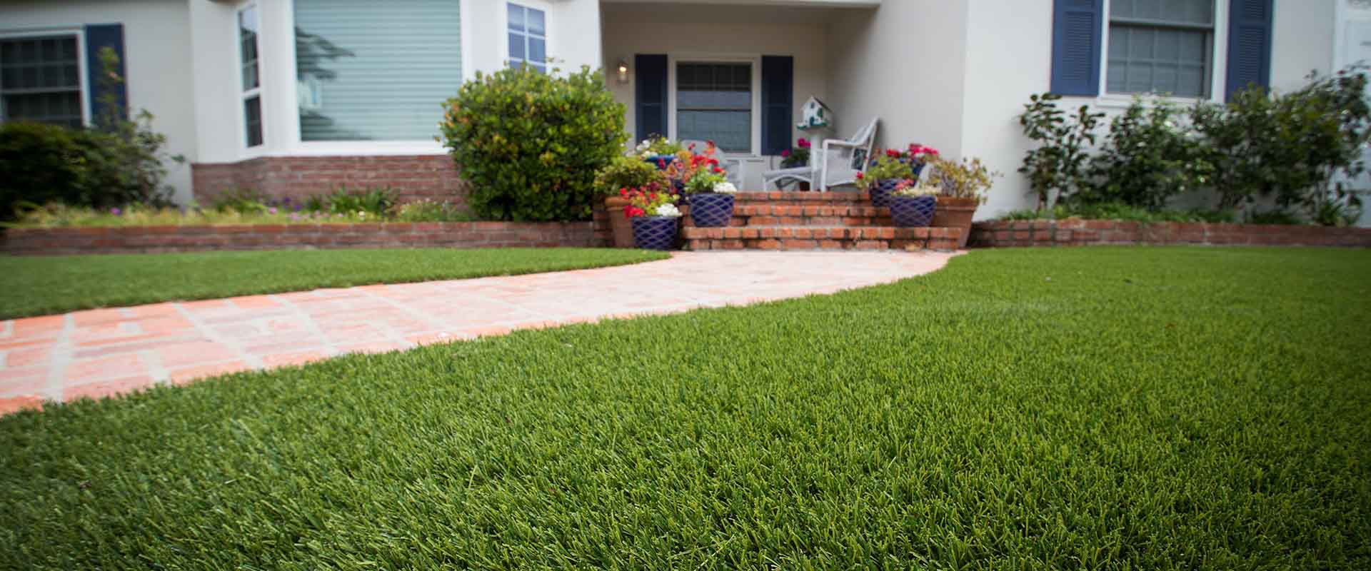 Maintenance-free waterless grass for your home by SYNLawn of Georgia